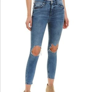 Free People Busted Kneww Skinny Jeans